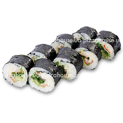 Roll Uramaki with eel  - big photo