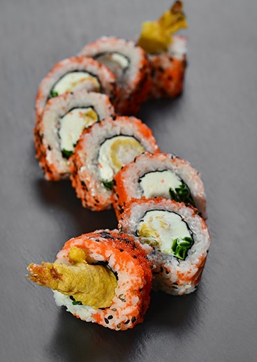 Tempura roll Eby in Kharkov - big photo