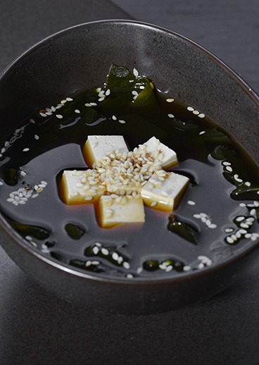 Miso soup - photo