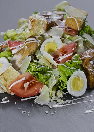 Salad Caesar with chicken in Kharkov  - photo