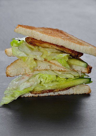 Sandwich with chicken - photo