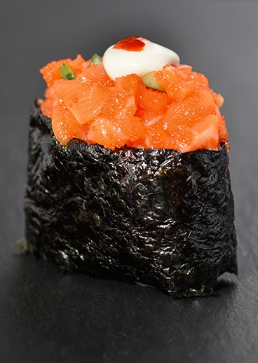 Spice sushi Salmon - photo