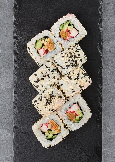 Roll Bonito with chicken - big photo