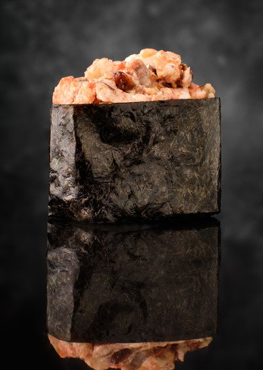 Sushi Gunkan with eel - big photo