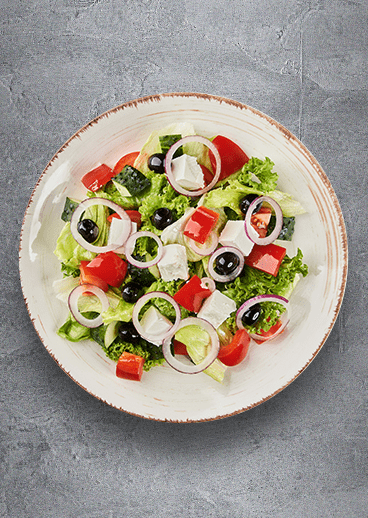 Greek salad - big photo