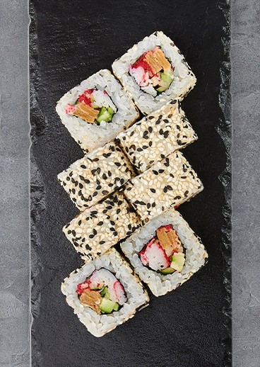 Roll Bonito with crab - photo