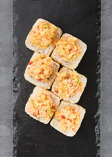 Roll California with crab - photo