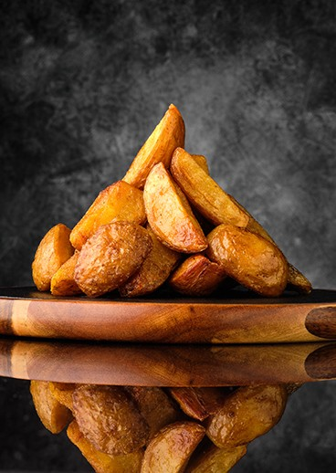 Potato wedges - photo