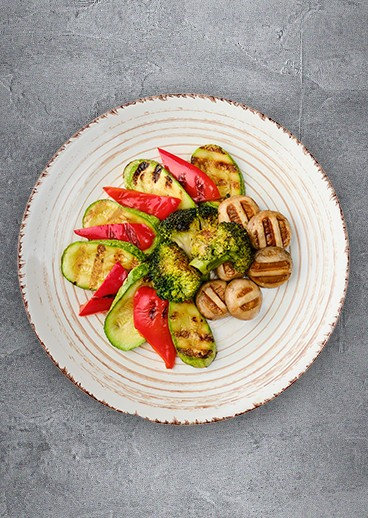 Grilled vegetables - photo