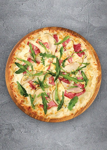 Pizza with Prosciutto  - photo