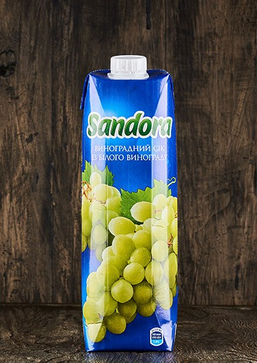 Sandora juice grape - photo