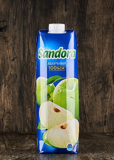 Sandora juice an Apple - photo